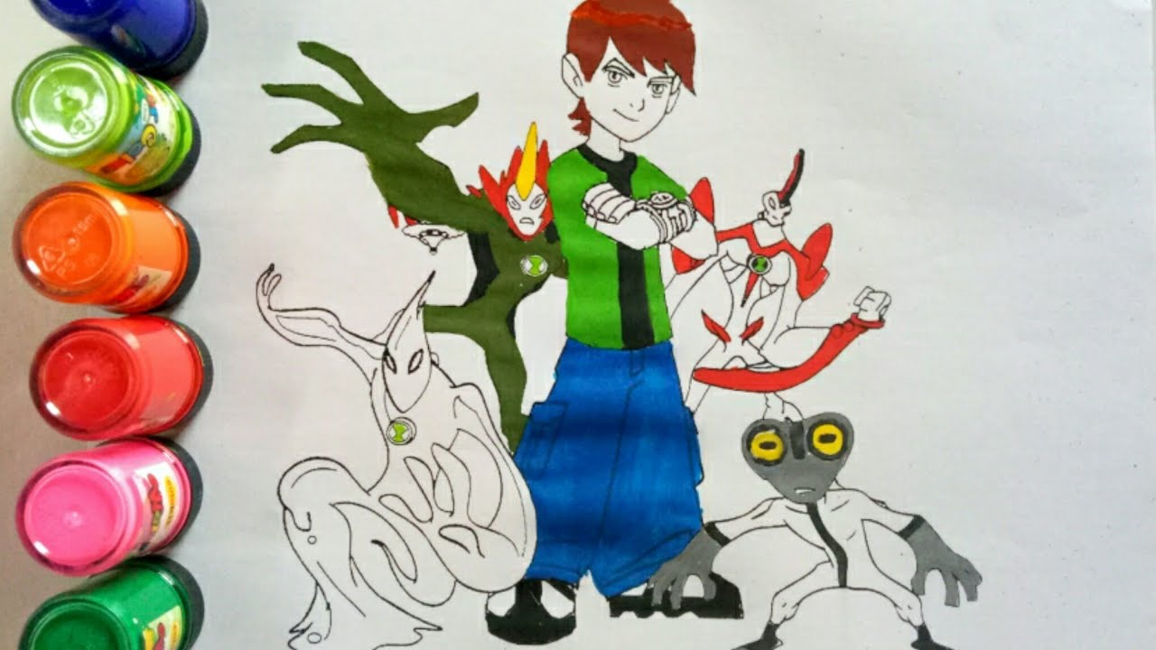 Ben 10 Coloring Pages Portraits Good Ben Coloring Pages with Ben ...   720x1280