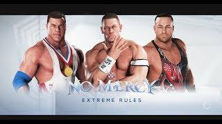 John Cena vs Rob Van Dam vs Kurt Angle- WWE Triple threat Match -- WWE-2K18-Gameplay
