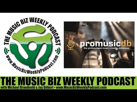 Ep. 255 ProMusicDB the Professional Music Credits Database and Archive Launches