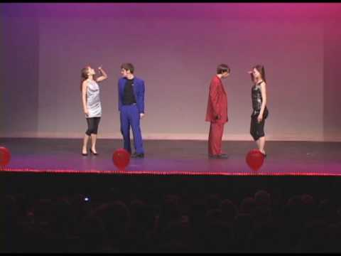 Mr. NCC Haddaway What is Love dance routine A Night At The RoxBury North Central College Naperville