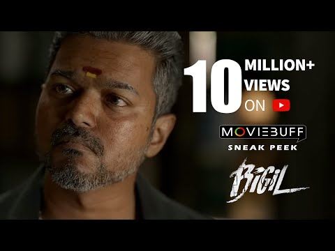 Bigil - Moviebuff Sneak Peek 03 | Vijay, Nayanthara - Directed by Atlee Kumar | AR Rahman
