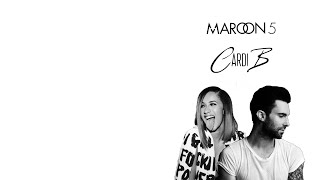 Maroon 5 - Girls Like You ft. Cardi B (Lyrics Video)
