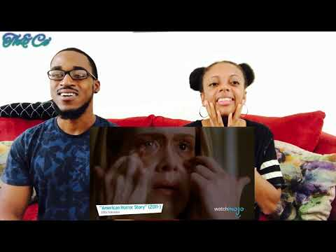 TOP 10 AMERICAN HORROR STORY MOMENTS! (Th&Ce' Reaction)
