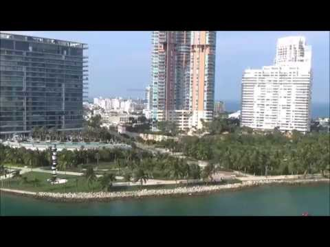 Caribbean Cruise on Carnival Victory Part 1  Bye Bye Miami, Day at Sea, Jackpot??