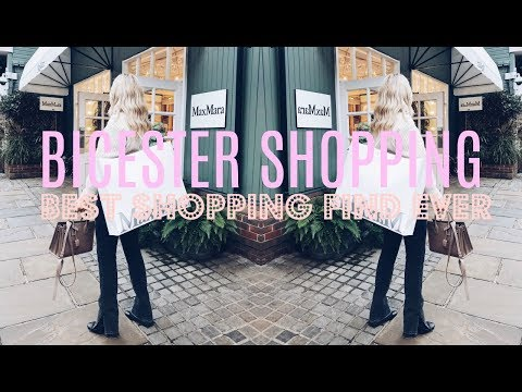 BICESTER SHOPPING VLOG AND HAUL | BEST SHOPPING FIND EVER | IAM CHOUQUETTE