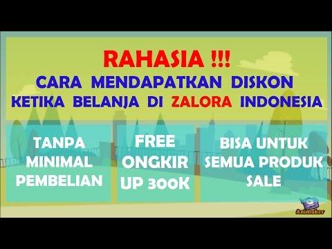 RAHASIA!!! CARA MENDAPATKAN DISKON KETIKA BELANJA DI ZALORA INDONEISA