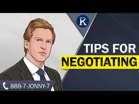 How To Negotiate A Settlement With An Insurance Adjuster