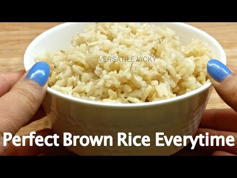 How To Cook Brown Rice | Brown Rice For Weight Loss
