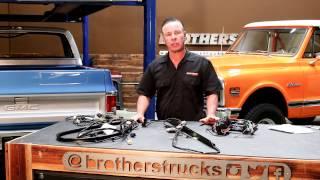 Chevy & GMC Truck Factory Style Wiring (Engine, Lights, Dash, etc)
