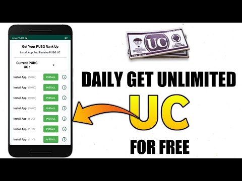 How To Get Free UC Daily In PUBG Mobile | Best Ever Method To Get Free Uc Directly Into PUBG Account