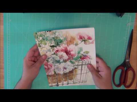 Plan with Me I Placemats Planner Covers DIY I Making your own