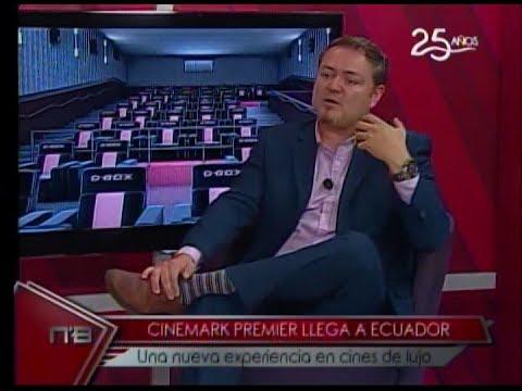 Cinemark Premier llega a Ecuador una nueva experiencia en cines de lujo