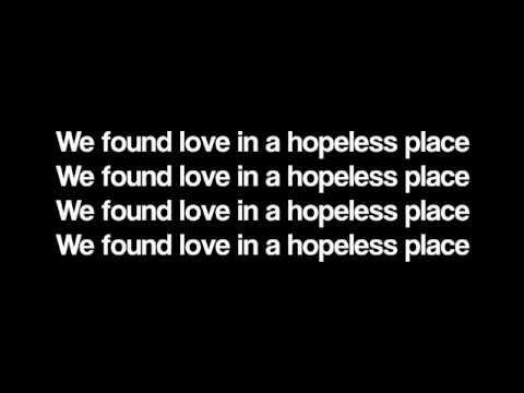 Rihanna   We Found Love LYRICS   YouTube