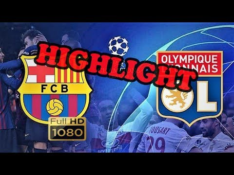 Barcelona vs Lyon Extended Highlight Uefa Champions League LEG 2
