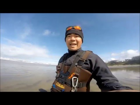 Newport Oregon Surf Fishing