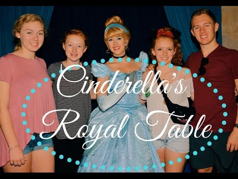 Cinderella's Royal Table Dining Experience
