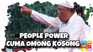 People Power Cuma Om0n6 Ko5on6! P3n63cut Kok Diajak Aksi