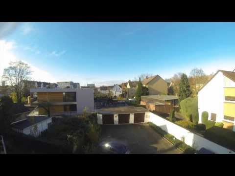 Timelapse Video Sun - Sunny - Cloudy - Night @ Frankfurt / Main Germany