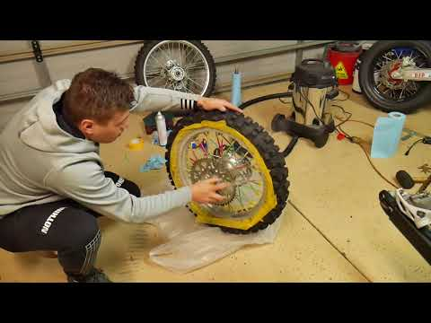 How to paint your dirtbike wheels properly at home for $30