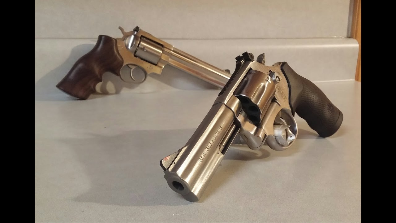 S&W 686 vs Ruger GP100, differences