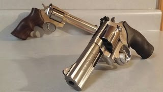 S&W 686 vs Ruger GP100, differences.