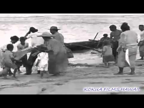 HAWAIIAN HISTORY - HUKILAU 1924 - HAWAIIAN STYLE