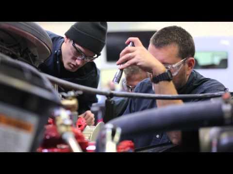 Tidewater Community College's Diesel Technology Program