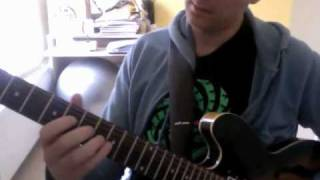 Buddy Whittington Blues Guitar Lesson - Sure Got Cold After the Rain Fell - Intro Solo