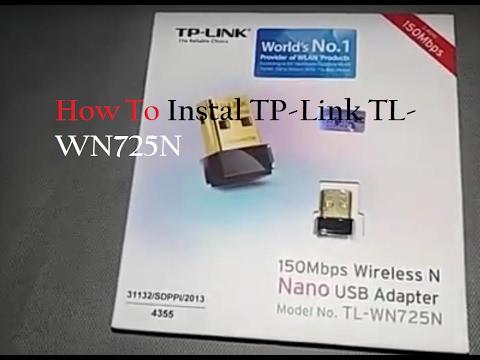 Tp link tl-wn725n driver download.