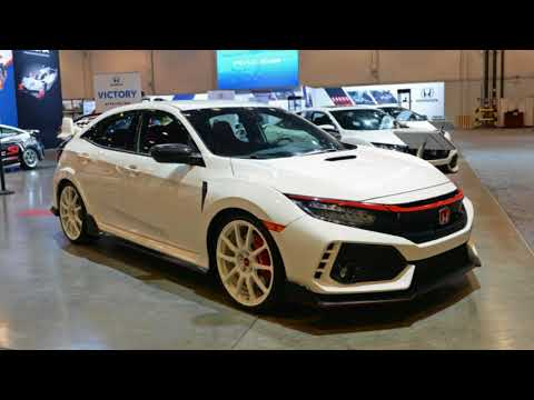 2017 SEMA SHOW: Honda showcases Civic Type R, Civic Si, Fit performance parts