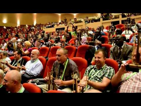 Angklung Music Indonesia - the 2nd Congress of Nation EE International