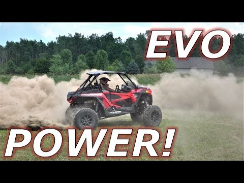 RZR Turbo S MORE POWER with Evolution tuning!