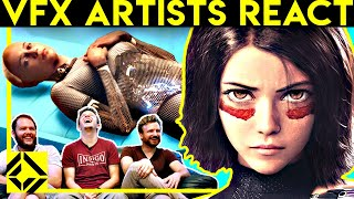 VFX Artists React to Bad & Great CGi 9