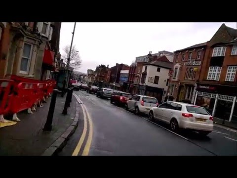 Cycling in Leicester Episode 4 From Uni down to City Centre