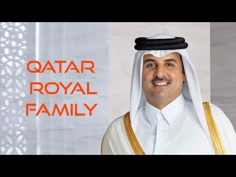 Qatar Emir Royal Family and Ministers