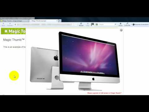 How To Enlarge Images In Dreamweaver Using JavaScript
