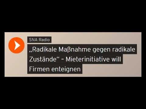 """Radikale Maßnahme gegen radikale Zustände"" – Mieterinitiative will Firmen enteignen (Sputniknews)"