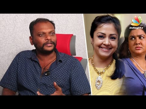 Urvashi scared to sit behind Jyothika bike : Magalir Mattum Director Bramma Interview