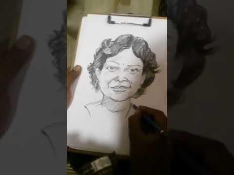 PORTRAIT ARTIST Muthu Live Sketch MADURAI.... 9176009620
