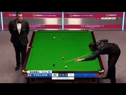 Spectacular Ronnie O'sullivan clearance : post world snooker