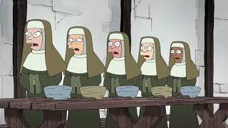 Disenchantment - Bean is a nun