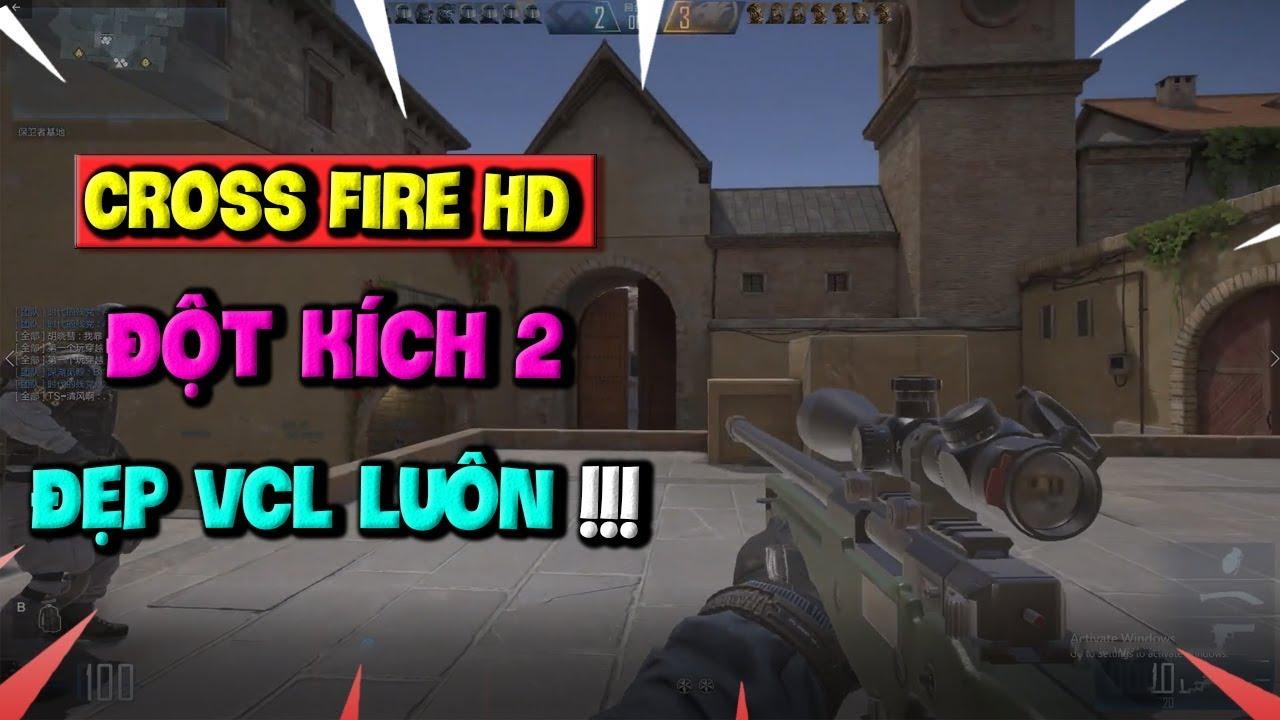 Đột Kích HD (CrossFire 2) Chính Thức Ra Mắt – Game Bắn Súng Đồ Họa Đẹp Như CS:GO