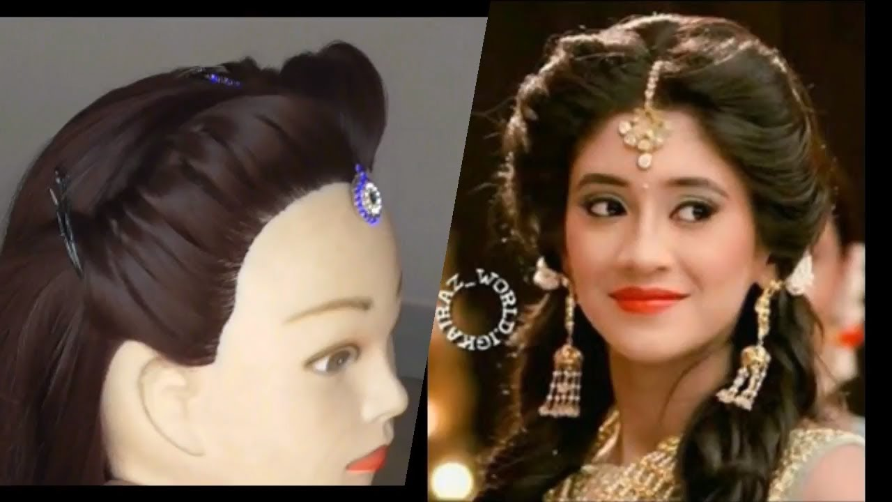 Easy Weddings Or Functions Hairstyle Diy How To Fix Mag Tikka