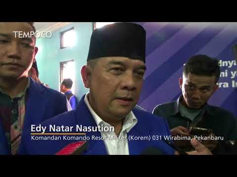 Komandan Korem Pekanbaru Edy Natar Nasution Ikut Pilkada Riau