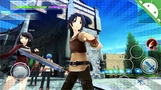 [Sword Art Online Integral Factor] Excelente Juego de Mundo Abierto Para Android