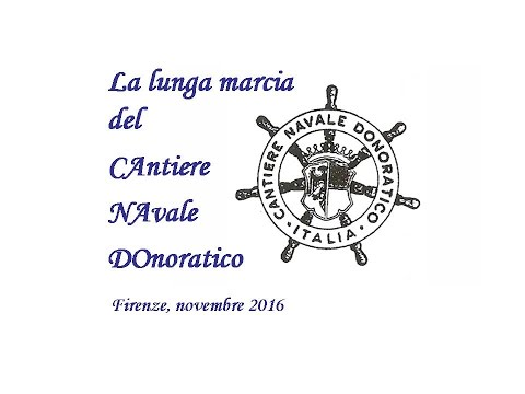 CAntiere NAvale DOnoratico