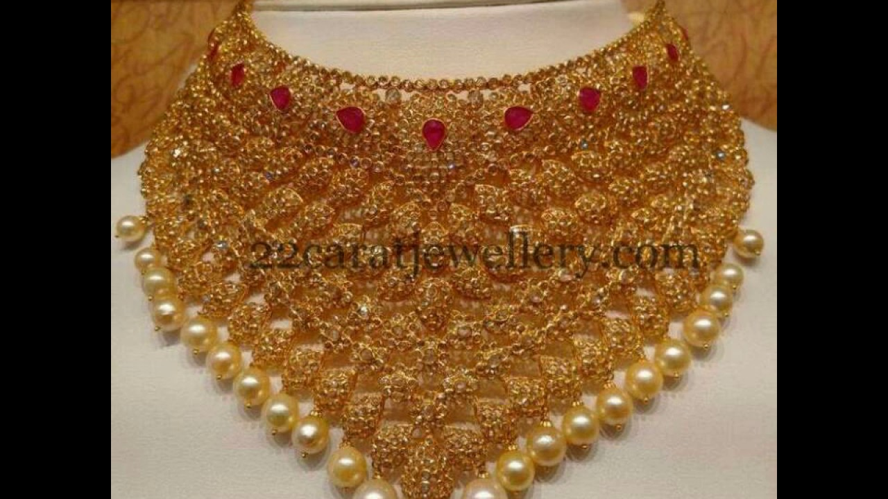 bridal collections designs jewellery gold sets khazana
