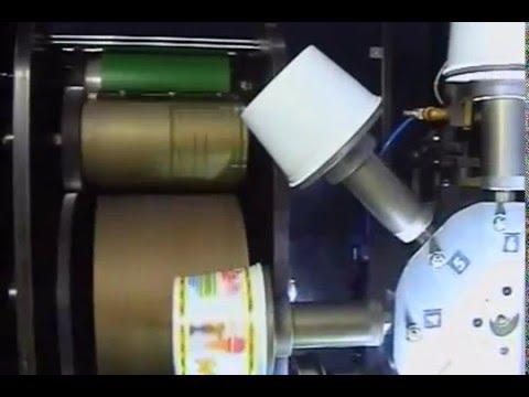 Cup Printing Machine Dry Offset Printing Dominator 120