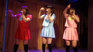 (ブルー nana、赤 Hiromi、ピンク Miku) 「I dol Flower Vol.25 2周年...