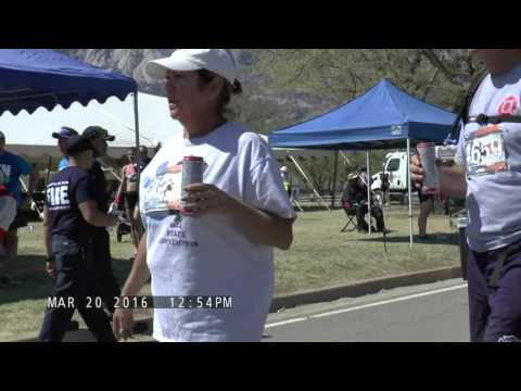 Watch Bataan Memorial Death March Finish Line area. Part 1
